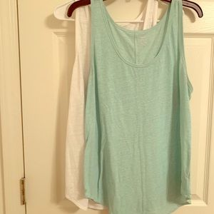 Two Old Navy Relaxed Tanks XL